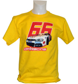 DF1 Nascar66 Shirt yellow
