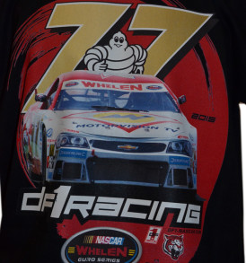 DF1 Nascar77 Shirt black/white